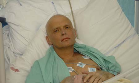 Alexander Litvinenko βρώμικη βόμβα πολώνιο 210
