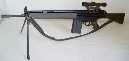 G3A3 Tυφέκιο Εφόδου Ελληνικού Στρατού