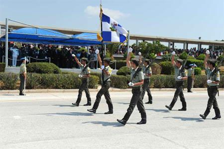 Σχολή Ευελπίδων (Παρέλαση)