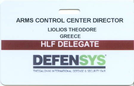 Defensys 2010 Arms Control Center