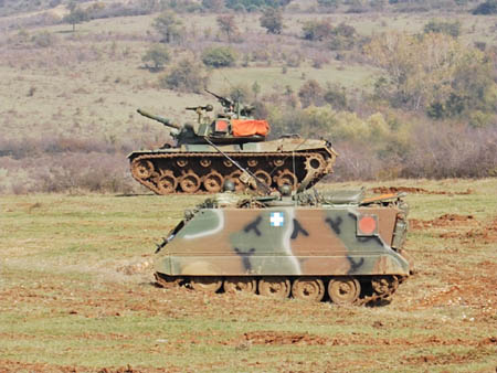 Παραμένει στην Καβάλα η 20η Τεθωρακισμένη Ταξιαρχία
