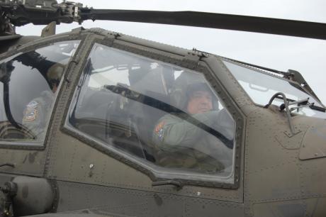 Φραγκούλης Φράγκος, Αρχηγός ΓΕΣ, Ελικόπτερα Απάτσι
