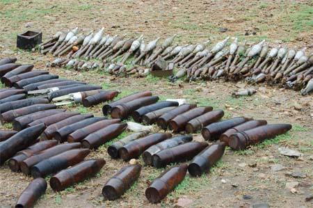 πυρομαχικά εκρηκτικά βλήματα