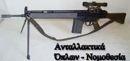 G3A3 τυφέκιο εφόδου τυφέκιο μάχης Ανταλλακτικά