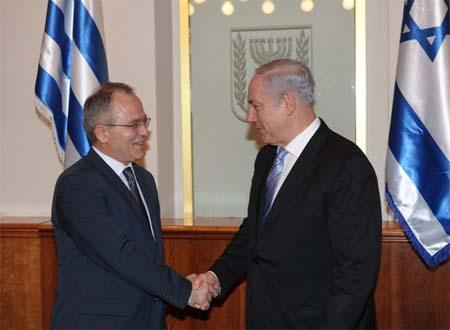 Πάνος Μπεγλίτης στο Ισραήλ