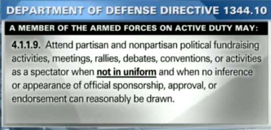 στρατιωτικοί πολιτικά κόμματα
