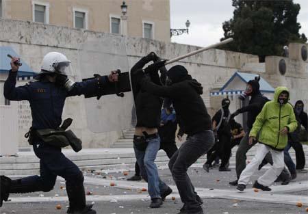 Ελληνική Πολιτοφυλακή ένοπλες συγκρούσεις